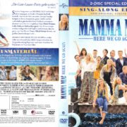 Mamma Mia! Here We Go Again (2018) R2 German DVD Covers & Labels