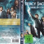 Percy Jackson – Diebe im Olymp (2010) R2 German DVD Cover & Label