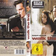Walk the Line (2005) R2 german DVD Cover & Label