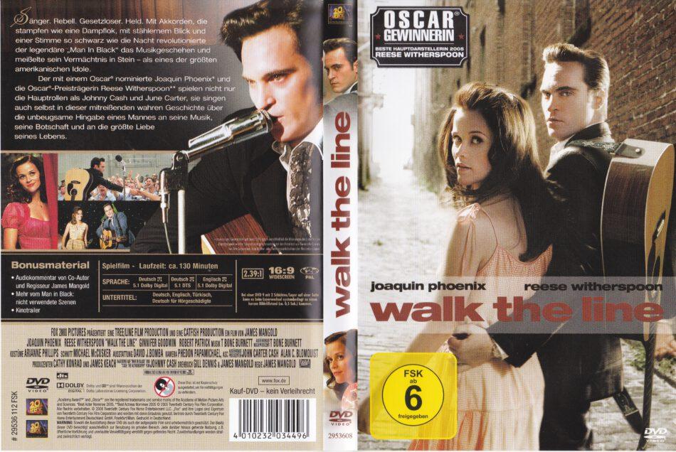 20617e0750f Walk the Line (2005) R2 german DVD Cover & Label - DVDcover.Com