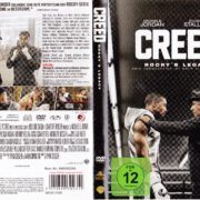 Creed – Rocky's Legacy (2015) R2 German DVD Cover & Label