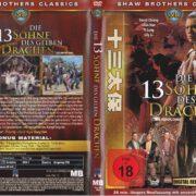 Die 13 Söhne des gelben Drachen (1970) R2 german DVD Cover & Label