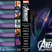 Avengers Assembled – Phase Three (10) R1 Custom Blu-Ray Cover