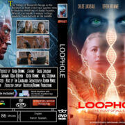 Loophole (2017) R0 Custom DVD Cover