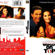WOMAN ON TOP (2000) R1 DVD COVER & LABEL