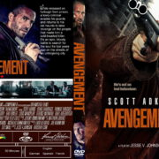 Avengement (2019) R0 Custom DVD Cover