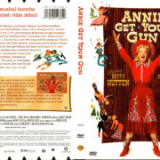 ANNIE GET YOUR GUN (1950) R1 DVD COVER & LABEL