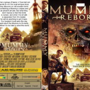 The Mummy Reborn (2019) R0 Custom DVD COVER