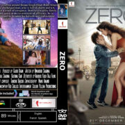 Zero (2018) R0 CUSTOM DVD COVER