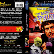 THE ABOMINABLE DR. PHIBES (1971) R1 DVD COVER & LABEL