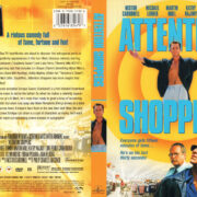 ATTENTION SHOPPERS (1999) R1 DVD COVER & LABEL
