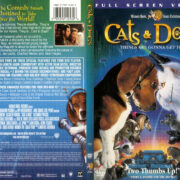 Cats & Dogs (2001) R1 SLIM DVD COVER