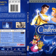 Cinderella (1950) R1 SLIM DVD COVER