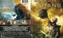 Clash of the Titans (2010) R1 SLIM DVD COVER