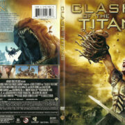 Clash of the Titans (2010) R1 SLIM DVD COVER
