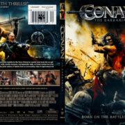 Conan the Barbarian (2011) R1 SLIM DVD COVER