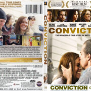 Conviction (2010) R1 SLIM DVD COVER