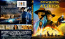 Cowboys & Aliens (2011) R1 SLIM DVD COVER