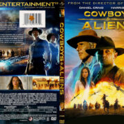 Cowboys & Aliens (2011) R1 SLIM DVD COVER