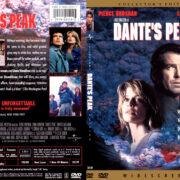 Dante's Peak (1997) R1 SLIM DVD COVER