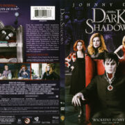 Dark Shadows (2012) R1 SLIM DVD COVER