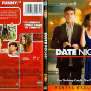 Date Night (2010) R1 SLIM DVD COVER