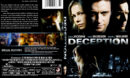 Deception (2008) R1 SLIM DVD COVER