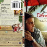 The Descendants (2011) R1 SLIM DVD COVER
