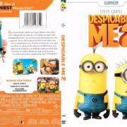 Despicable Me 2 (2012) R1 SLIM DVD COVER
