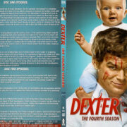 Dexter - Season 4 - Discs 1 & 2 R1 SLIM DVD COVER