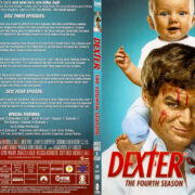 Dexter - Season 4 - Discs 3 & 4 (2010) R1 SLIM DVD COVER