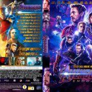 Avengers: Endgame (2019) R1 Custom DVD Cover