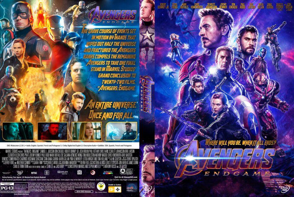 Avengers Endgame 2019 R1 Custom Dvd Cover Dvdcover Com
