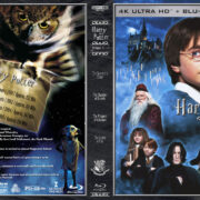 Harry Potter Years 1-4 R1 CUSTOM 4K UHD COVER