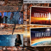 Independence Day Double Feature R1 CUSTOM 4K UHD COVER