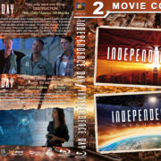 Independence Day Double Feature R1 CUSTOM BLU-RAY COVER