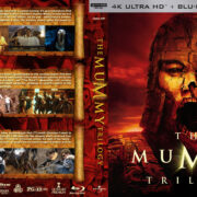 The Mummy Trilogy R1 CUSTOM 4K UHD COVER