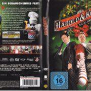 Harold & Kumar – Alle Jahre wieder (2011) R2 German DVD Cover & Label