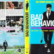 Bad Behaviour (2010) R2 German DVD Covers & label