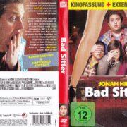 Bad Sitter (2010) R2 German DVD Cover & label