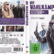 Die Wahlkämpferin (2015) R2 German DVD Cover & label