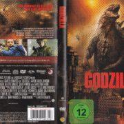 Godzilla (2014) R2 german DVD Cover & label