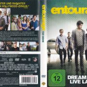 Entourage (2015) R2 German DVD Cover & label