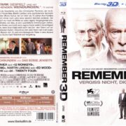 Remember - Vergiss nicht, dich zu erinnern (2015) R2 German Blu-Ray Covers & label