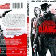 Django Unchained (2012) R1 SLIM DVD COVER
