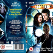 Doctor Who – Series 4 – Vol 1 (2008) R2 SLIM DVD COVER