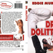 Dr. Dolittle (1999) R1 SLIM DVD COVER