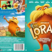 Dr. Seuss' The Lorax (2012) R1 SLIM DVD COVER