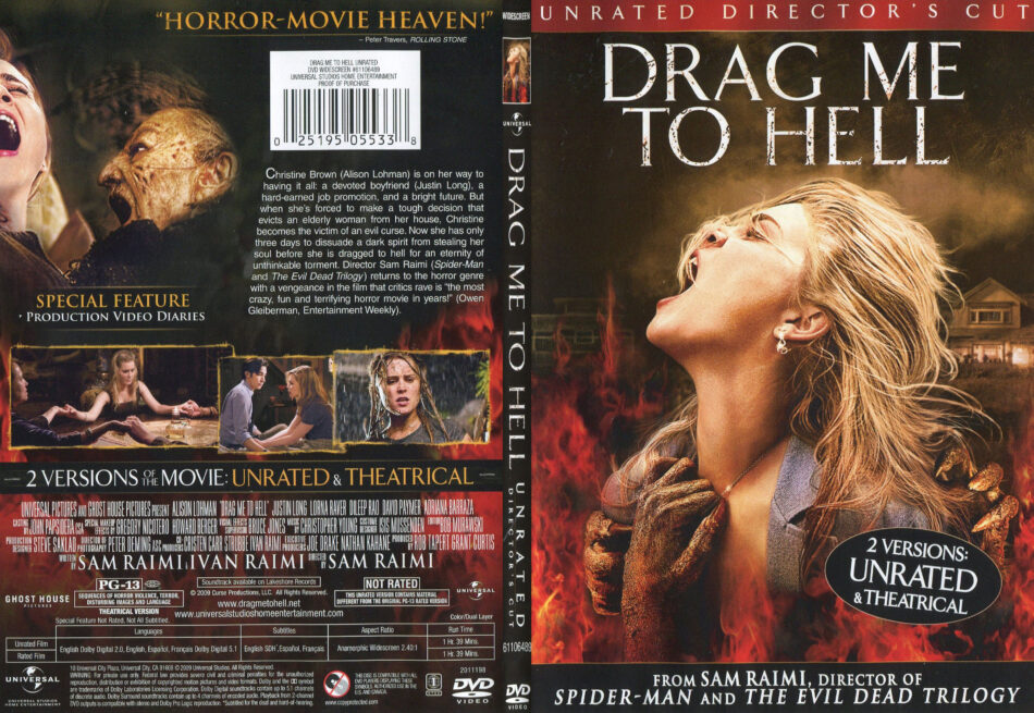 Drag Me To Hell 2009 R1 Slim Dvd Cover Dvdcover Com
