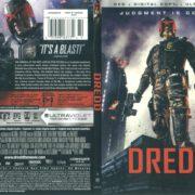 Dredd (2012) R1 SLIM DVD COVER